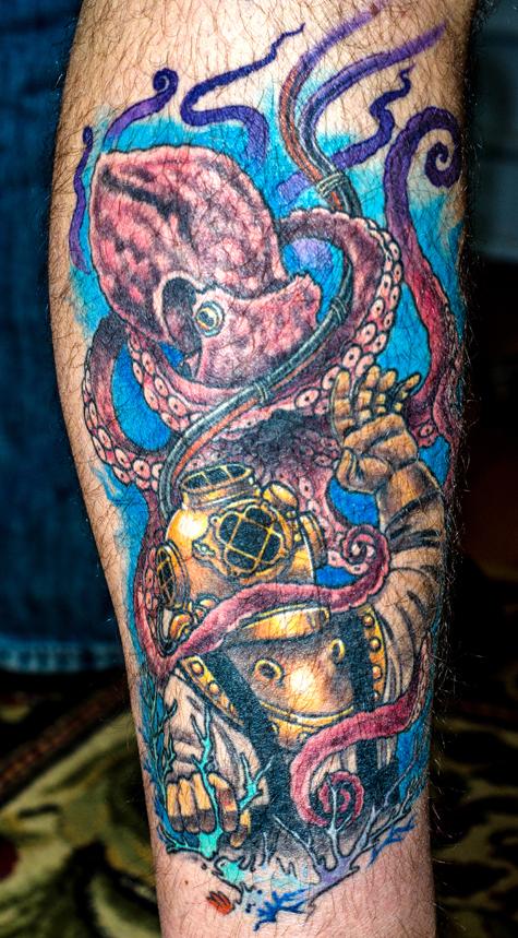 Diver octo